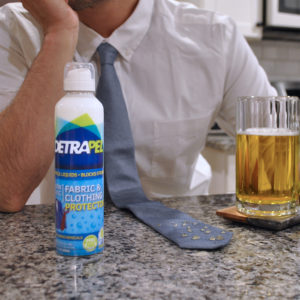 Keep your clothes stain resistant with DetraPel Fabric & Clothing Protector