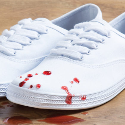 Protect your shoes with DetraPel Shoe & Sneaker Protector - keeps shoes white