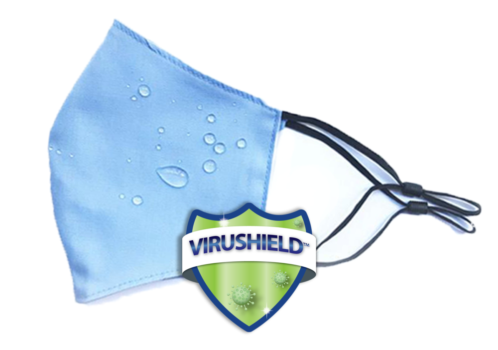 Mask Repellency with viruShield