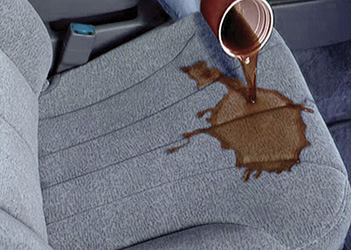 Auto Fabric & Carpet Protector by DetraPel. Protects floor mats, headliners, door panels.