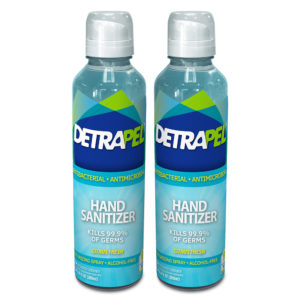 DetraPel Hand Sanitizer kills 99.9* of common germs, keep your hand clean against coronavirus