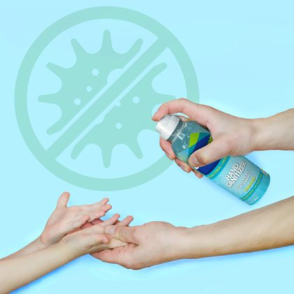 DetraPel Hand Sanitizer kills 99.9% of common germs