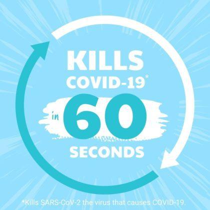 DetraPel Clean AF kills in 60 seconds