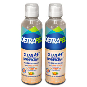 DetraPel CLEAN AF Disinfectant - citrus fresh scent
