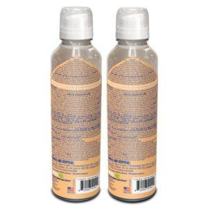 DetraPel CLEAN AF Disinfectant - Citrus Fresh Scent - back of bottle