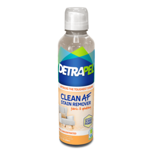 DetraPel Clean AF Stain Remover for Fabric Upholstery Bottle Front
