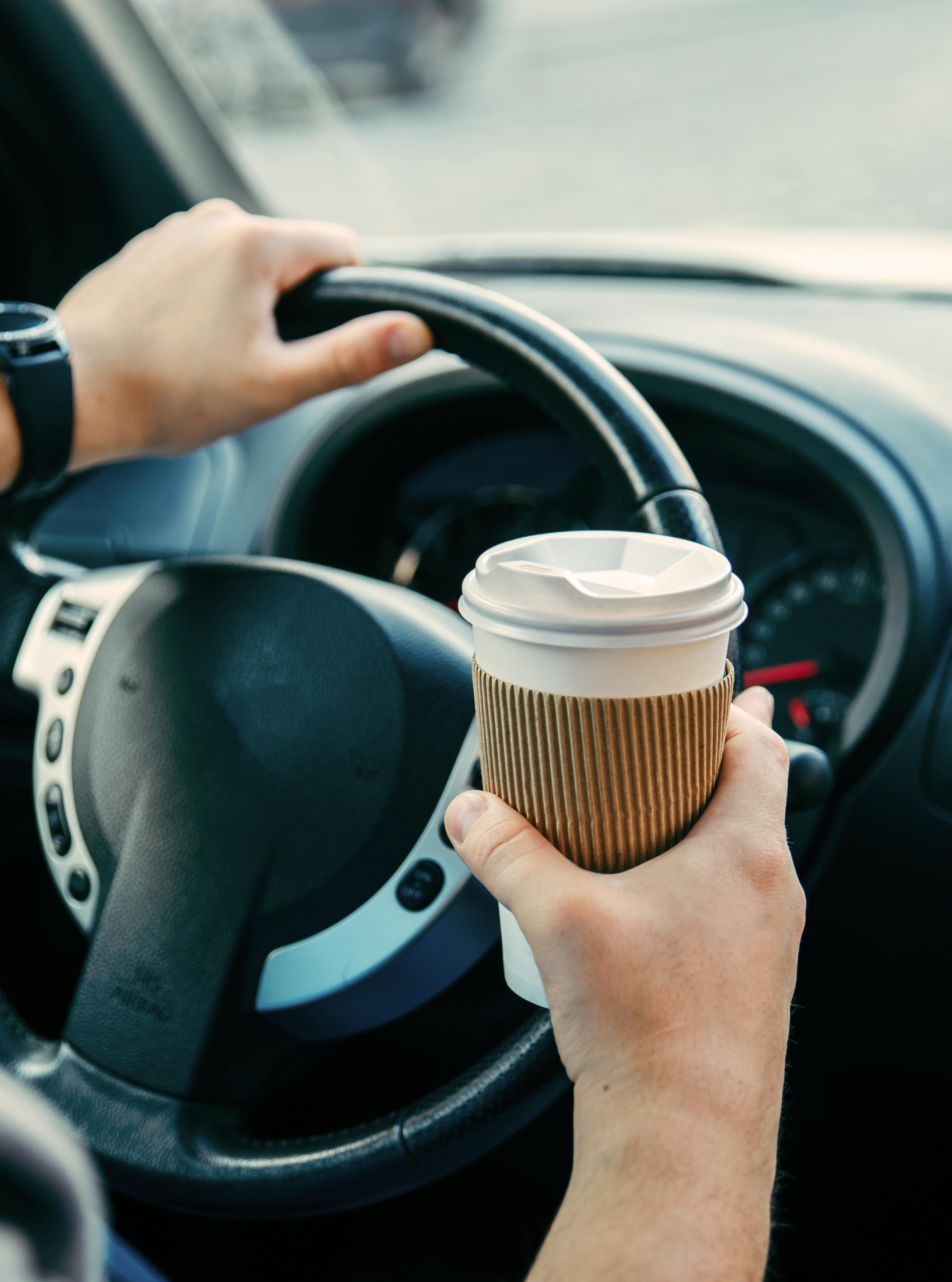 Coffee in Car