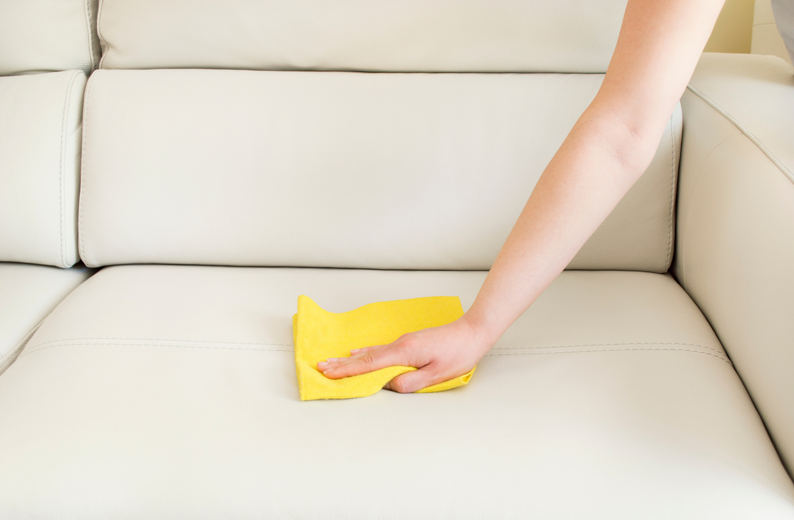 Clean your leather couch